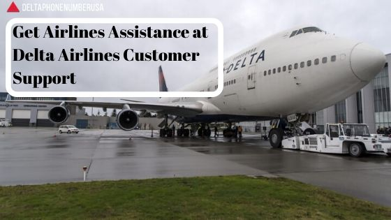 Get Airlines Assistance at Delta Airlines Customer Support